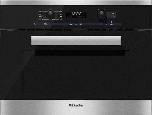 M6260TC Forno Miele compatto microonde h.45 inox