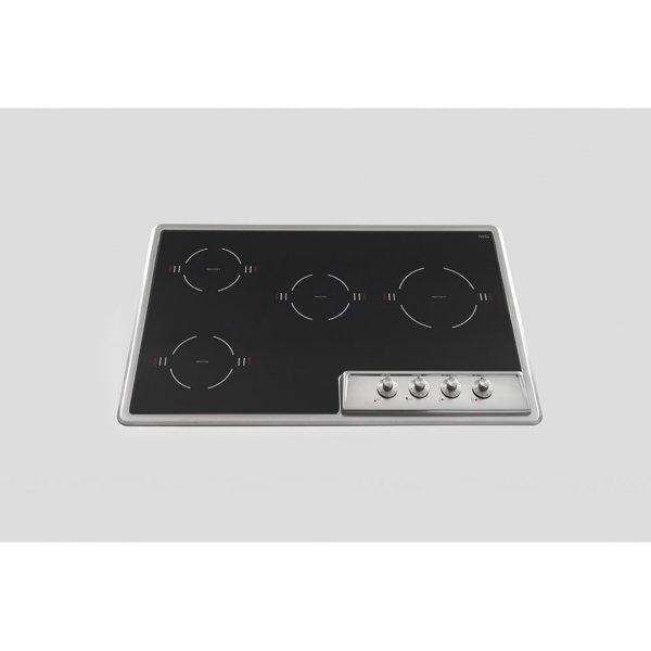 F579/4EI Alpes Piano cottura Induzione Acciaio inox 4 zone cottura