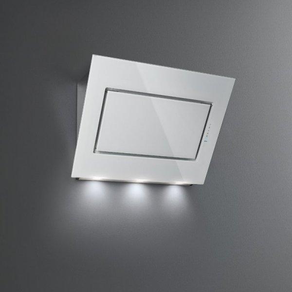 QUASAR Cappa Falmec parete 60cm. vetro bianco 800mc ...