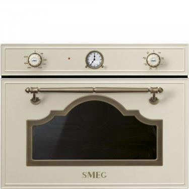 SF4750MPO Smeg Forno  microonde +grill H. 45cm panna