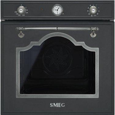 SF750AS Smeg Forno Elettrico termoventil. 10funz. antracite 60cm A