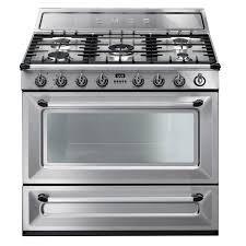 TRI90X1 Cucina Smeg 90x60 Acciaio inox