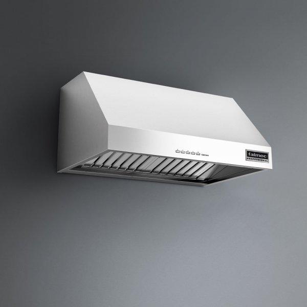 ZEUS Pro Cappa Falmec parete 90cm. inox professional 950mc.