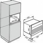 H 6800 BM Forno Mutifunzione Mìele, microonde integrato