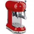 ECF01RDEU Macchina da caffè espresso SMEG 50 Style Rosso