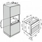 H 6260 B Forno Multifuzione Miele acciaio CleanSteel