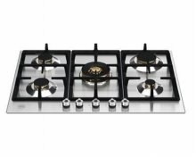 P755CPROX  BERTAZZONI 75 cm. St/Stell Gas Hob with cast iron grids