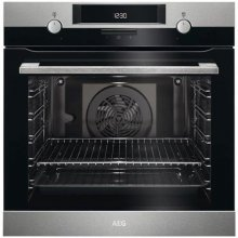 BEK431011M AEG St/Steel Built-in Oven 8 Functions Energy eff.A