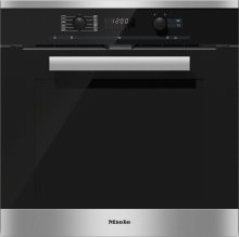H 6260 BP Miele Pyrolytic Multifunction oven CleanSteel A+