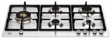 P905LPROX BERTAZZONI 90 cm. St/Stell Gas Hob with cast iron grids