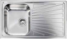 011443SCSSX CM Built-In sink Cometa 86x50 1 left Bowl