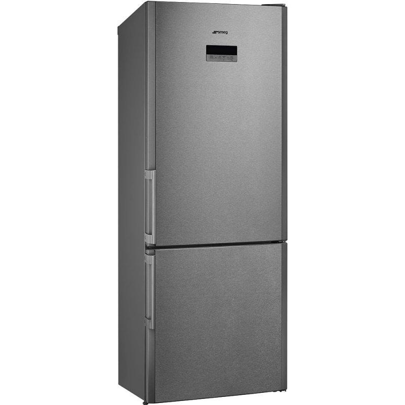 fc450x2pe frigo combinato smeg inox antimpronta a. Black Bedroom Furniture Sets. Home Design Ideas